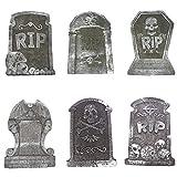 CULER Halloween Schiuma Graveyard Lapidi Lapide Cimitero frequentato casa Decorazioni per Halloween Yard Decoration Casuale