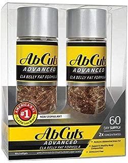 Ab Cuts CLA Belly Fat Formula, 2Pack (120 Softgels Each )