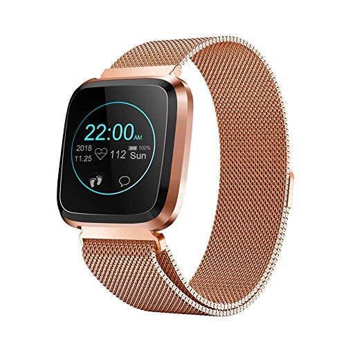 Reloj Inteligente, IP68 A Prueba De Agua Smartwatches, Monitor De Ritm