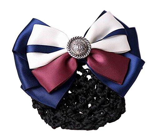 Elegant Ladies Snood Net Barrette Hairnets Housse de cheveux #01