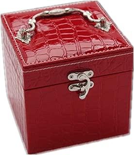 Ear Jewelry Box Separate Jewelry Box Girl Storage Box and Storage Box(Red One Size)