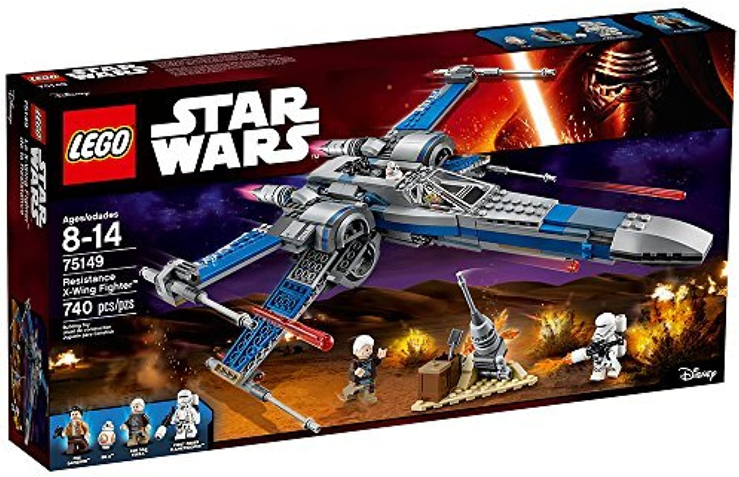 LEGO Star Wars Resistance XWing Fighter 75149