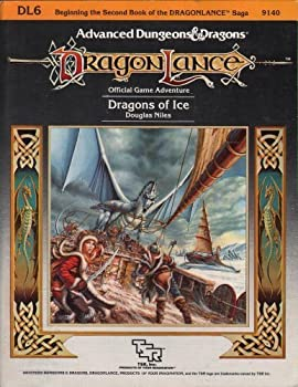 DL6 Dragons of Ice - Book  of the Advanced Dungeons and Dragons Module #C4