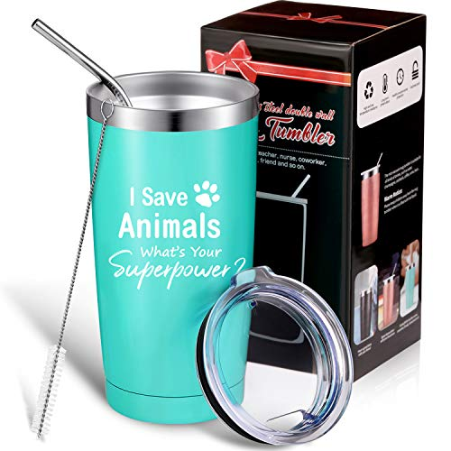 I Animals, What's Superpower, for Women, Customized Ideas for Tech, Animal Lovers, Pet Lover, Graduation, 20 oz Mug Tumbler with Box