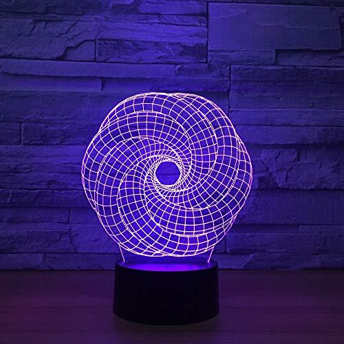 Abstrakte Symphonie Lichter Nachtlichter Grafiken Acryllichter Umgebungslichter Neuheit Beleuchtung Wohnaccessoires Schiffe