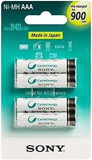 Sony NH-AAAB4GN 900mAh, 1.2V Pilha Recarregável