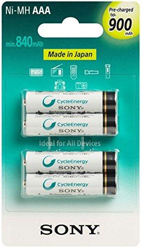 Sony NH-AAAB4GN 900mAh 1.2V - batteria ricaricabile