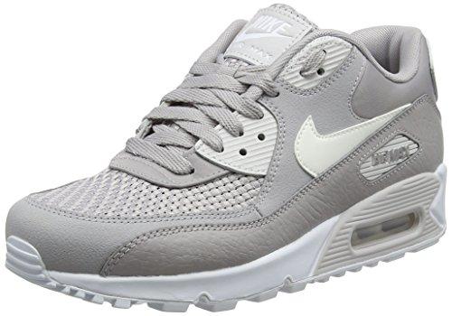 Nike Air Max 90 Se, Zapatillas de Gimnasia para Mujer, Gris (Atmosphere Grey/White/Vast Grey 005), 43 EU