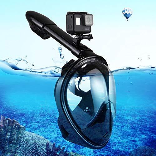 PULUZ Komplett Set Unterwasser Tauch Maske Schnorchel Ausrüstung Urlaub für GoPro HERO5 / 4/3+ / 3/2 / 1