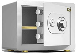 SHENGDAFASHANGCHENG Depository Safe Combination, Security Safes Safes Cabinet Mechanical Password Safety Box, Small Firepr...