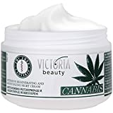 Cannabis Extract Night Face Cream - Natural Intensive Cream with Hemp Oil