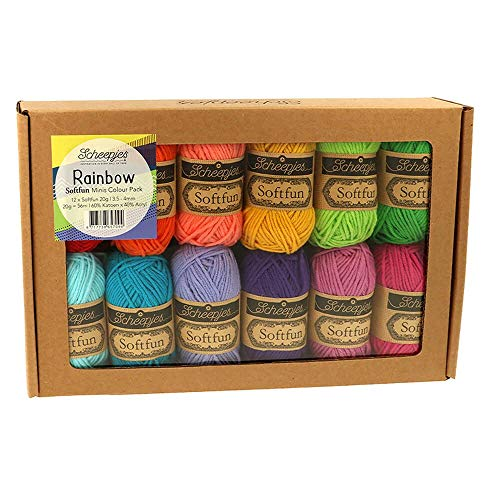 Softfun Colour Pack 12 x 20 g (Rainbow).