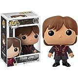 Funko Tyrion Lannister: Juego de Tronos x Figura de vinilo y 1 paquete protector gráfico de plástico PET [#001 / 03014 - B]