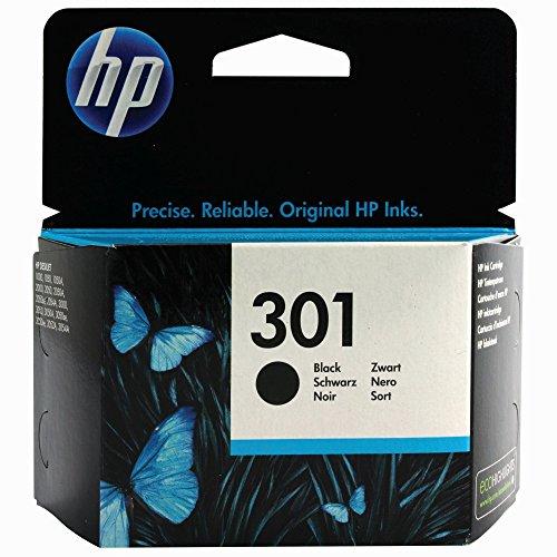 P 301 Schwarz Original Genuine Tintenpatrone für HP Deskjet 1000 1010 1050 1050 A 1050se 1510 1512 1514 - keine externe Verpackung