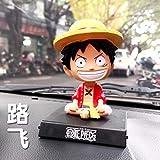 newolfend Anime EIN Stück Tony Chooper Luffy 12cm Bobble Kopf Puppen PVC Figur Modell Spielzeug...