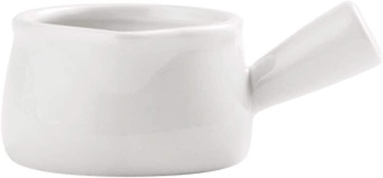 Milk Frothing Pitchers 2.7Oz Ceramic Max 59% OFF Large discharge sale Double Boat Insulated Sauce