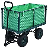 Garden Hand Trolley Green 771.6 Lbs