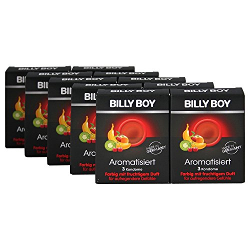 30 (10 x 3er) Billy Boy Aroma Kondome