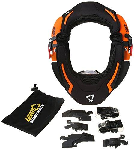 Leatt GPX Race Neck Brace, Farbe orange, Größe L/XL