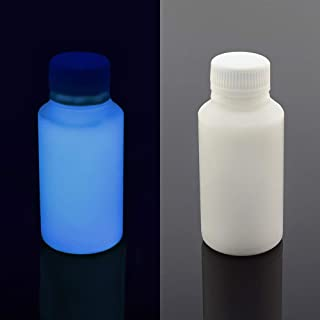 UV Blacklight Reactive Almost Invisible Neon Paint, Invisible Fluorescent Paint, neon Night UV Paint (Blue, 1 oz (30 ml))