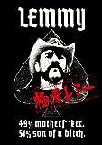 Lemmy:49%Mother F**Ker 51% Son [DVD de Audio]