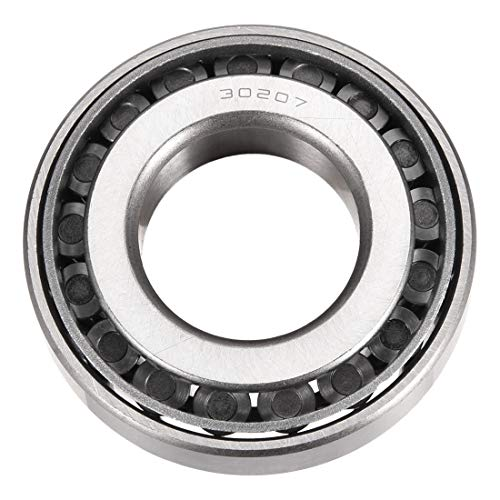 uxcell 30207 Tapered Roller Bearing Cone and Cup Set, 35mm Bore 72mm OD 17mm Thickness