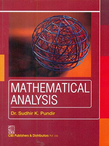 Mathematical Analysis (PB 2019)