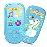 "Bluetooth MP3 Player Kinder, AGPTEK Einhorn MP4 Player 2,4"" Bildschirm, Musik Player mit"