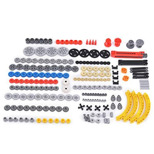 HZYM Piezas de repuesto técnicas, piezas de engranajes técnicos piezas de repuesto ladrillos bloques de construcción compatibles con piezas Lego Technic - Color al azar