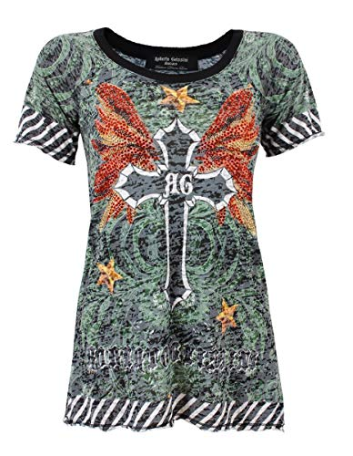 T-Shirt DEWORE-Flying Cross Black/XS