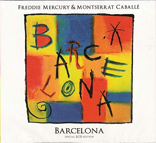 FREDDIE MERCURY (QUEEN) & MONTSERRAT CABALLÉ Barcelona 2CD Digipack [CD Audio]