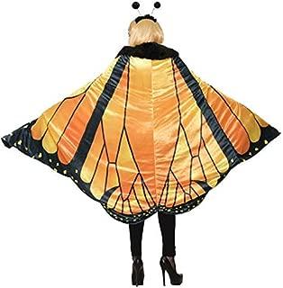 Forum 78388_STD-As-Standard Women's Monarch Butterfly Cape Adult Costume, Standard, Pack of 1
