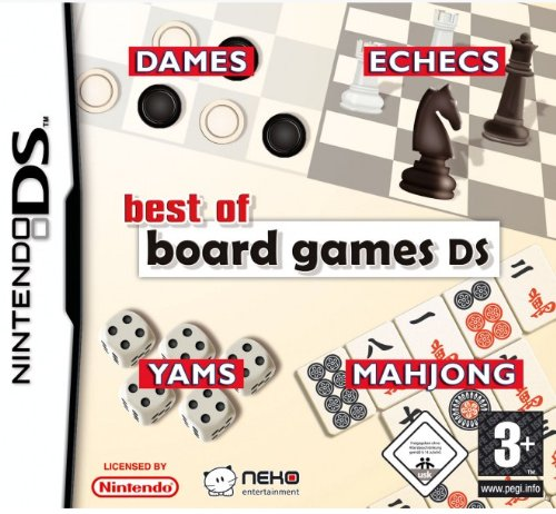 Bigben Interactive Best of Board Games, Nintendo Ds Nintendo Ds VãDeo - Juego (Nintendo Ds, Nintendo Ds, Juego de Cartas, e (Para Todos))