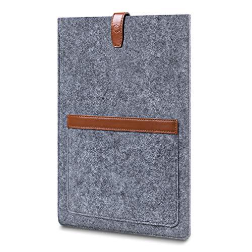 CAISON 13,3 Zoll Laptop Tasche Ultrabook Hülle Filz für 13,5