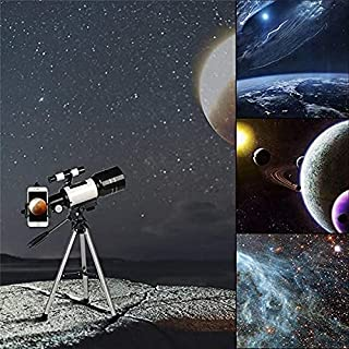 Kixre Telescope, Telescopes for Adults, 70mm Aperture 400mm AZ Travel Telescope, Telescope for Astronomy Beginners - with ...