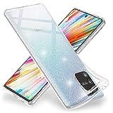 NALIA Glitter Cover compatible with Samsung Galaxy S10 Lite