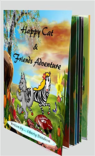 Book: Happy Cat & Friends Adventure by Liberty Dendron