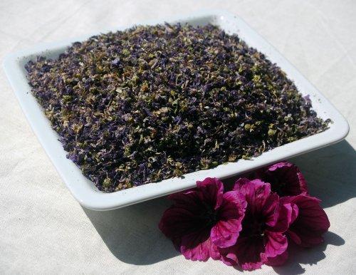 Naturix24 – Malvenblütentee, Malvenblüten geschnitten – 250 g Beutel