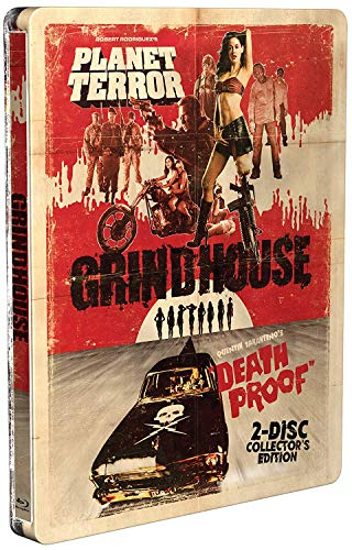 Grindhouse Collector's Edition Steelbook [Blu-ray]