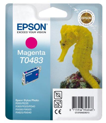 Epson T0483 Serbatoio Inchiostro,Colore Magenta