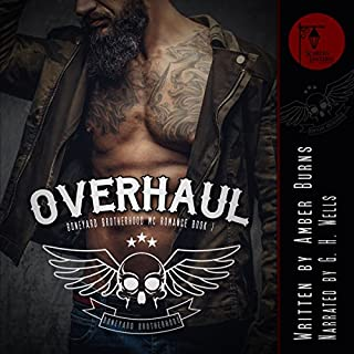 Overhaul audiobook cover art