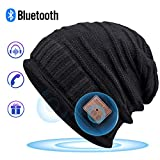 Bluetooth Beanie for Men, Bluetooth Hat,Mens Gifts, Women Mens Beanie Hats with Bluetooth Headphones,for Outdoor Sports, Skiing,Running,Skating,Christmas Birthday Gifts for Men Women,Fashion & Comfort