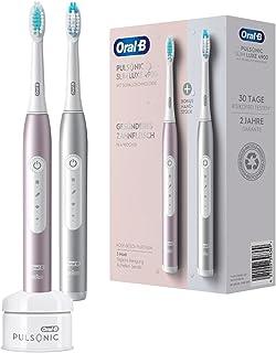 Oral-B Pulsonic Slim Luxe 4900 elektryczna szczoteczka do zębów dla zdrowszych dziąseł w ciągu 4 tygodni, 3 programy czysz...