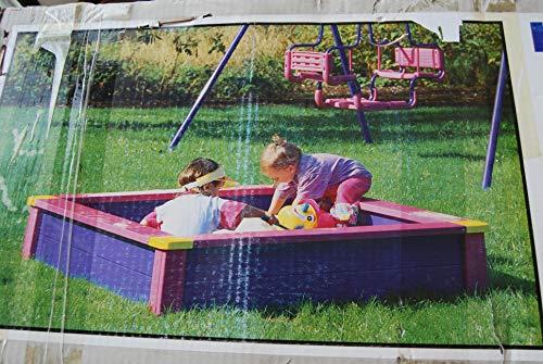 Kettler Toys Sandkasten Wetterfest 110 x 110 x 28 cm Modell 8300-000