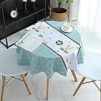 テーブルカバー布ルックテーブルクロススクエア形状アンチ火傷ソフトと太い様々なサイズダート撥テーブルクロスグリーン100×100センチメートル XYXG