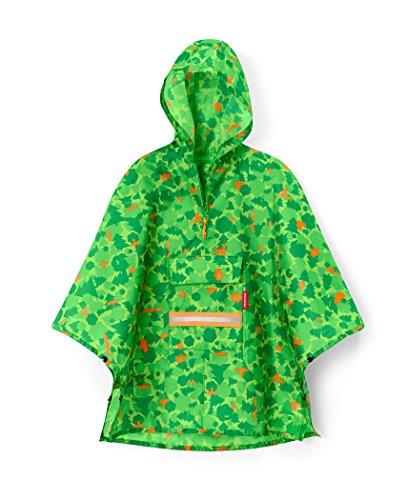 reisenthel mini maxi poncho M kids - greenwood Maße: 93 x 62 x 0 cm
