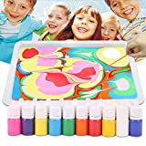 TTCPUYSA Hydrographics Water Marbling Kit de Pintura DIY Water Drawing Art Paint Set