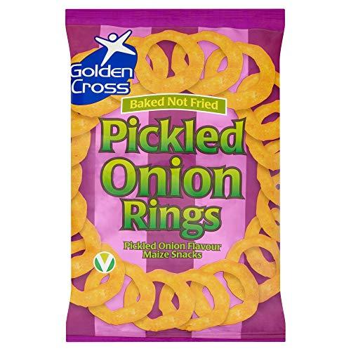 Golden Cross. Pickled Onion Rings 12x150g