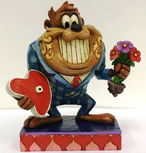 Unbekannt Looney Tunes Date Night with Taz Figurine by Jim Shore, Enesco 4055773-16 cm