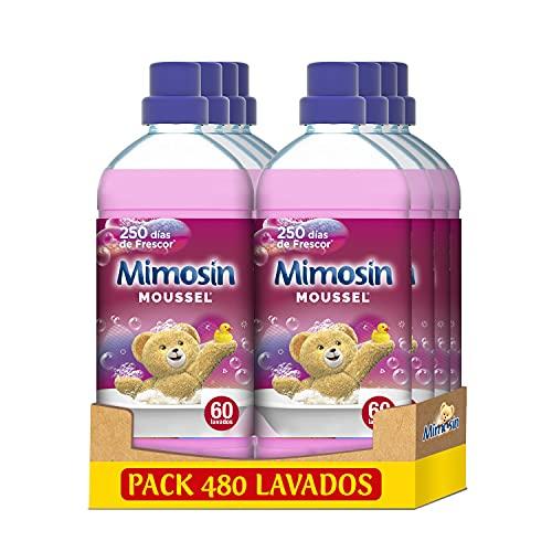 Mimosin Suavizante Concentrado Moussel 60 lavados - Pack de 8